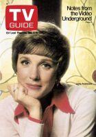 TV Guide, December 9, 1972 - Julie Andrews