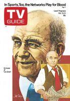 TV Guide, October 15, 1977 - Ed Asner of 'Lou Grant'