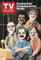 TV Guide, July 16, 1977 - The Cast of 'Barney Miller'