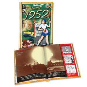 1952 MiniBook: 68th Birthday or Anniversary Gift