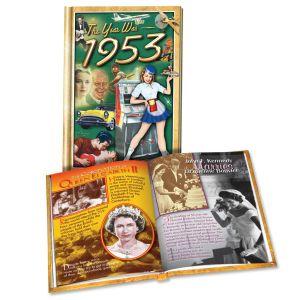 1953 MiniBook: 67th Birthday or Anniversary Gift