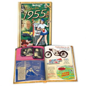 1955 MiniBook: 65th Birthday or Anniversary Gift