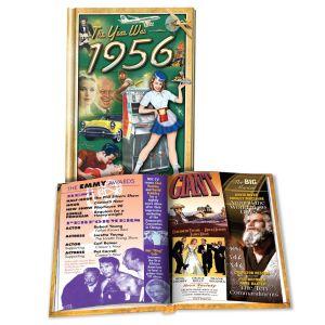 1956 MiniBook: 64rd Birthday or Anniversary Gift