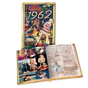 1962 MiniBook: 58th Birthday or Anniversary Gift