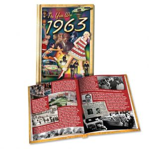 1963 MiniBook: 57th Birthday or Anniversary Gift