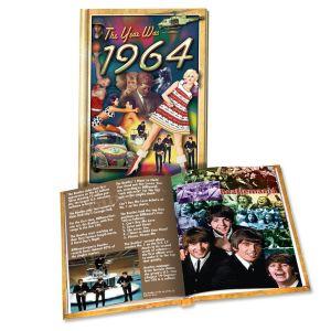 1964 MiniBook: 57th Birthday or Anniversary Gift