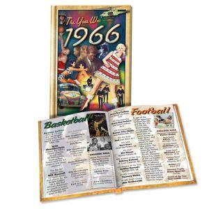 1966 MiniBook: 54rd Birthday or Anniversary Gift