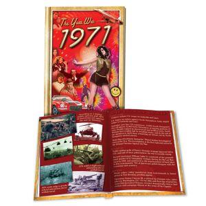 1971 MiniBook: 49th Birthday or Anniversary Gift