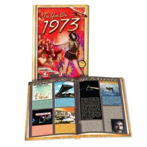 1973 MiniBook: 47th Birthday or Anniversary Gift