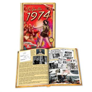 1974 MiniBook: 46th Birthday or Anniversary Gift