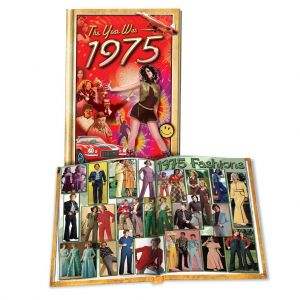 1975 MiniBook: 45th Birthday or Anniversary Gift