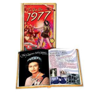1977 MiniBook: 43st Birthday or Anniversary Gift