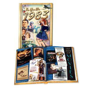 1983 MiniBook: 37th Birthday or Anniversary Gift