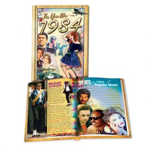 1984 MiniBook: 35th Birthday or Anniversary Gift