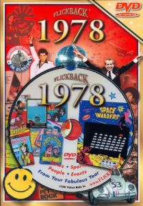 Events of 1978 DVD W/Greeting Card