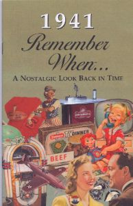 1941 Remember When Booklet