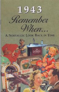 1943 Remember When Booklet