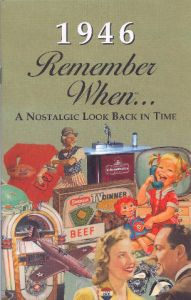 1946 Remember When Booklet