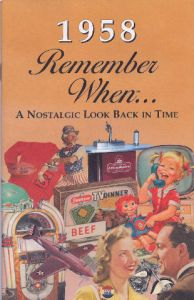 1958 Remember When Booklet