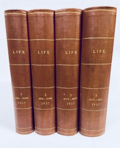 1937 Complete Year - All 52 Professionally Bound   Issues in 4 Volumes