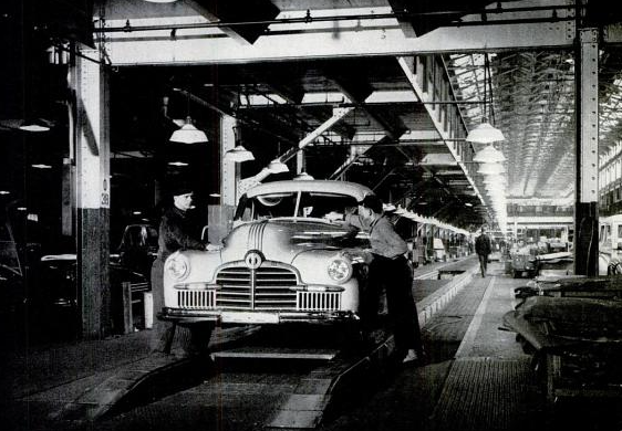 U.S. Auto Plants are Cleared for War.  February 16, 1942 Issue