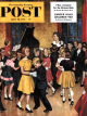 Saturday Evening Post, April 28, 1951 - Dance Cotillion