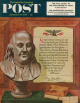 Saturday Evening Post, January 19, 1952 - Benjamin Franklin - bust and quote
