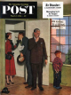 Saturday Evening Post, March 7, 1953 - Worried Rental Agent