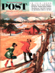 Saturday Evening Post, December 4, 1954 - Walking on the Fence