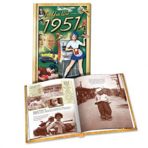 1951 MiniBook: 68th Birthday or Anniversary Gift