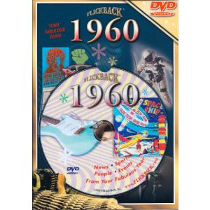 Events of 1960 DVD W/Greeting Card
