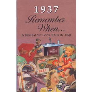 1937 Remember When Booklet
