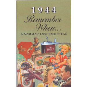 1944 Remember When Booklet