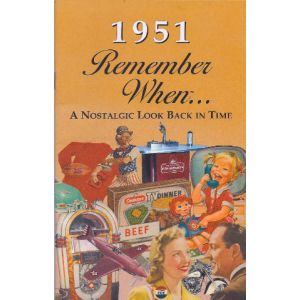 1951 Remember When Booklet