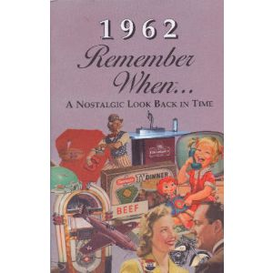 1962 Remember When Booklet