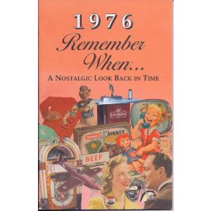 1976 Remember When Booklet