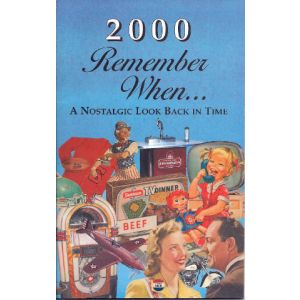 2000 Remember When Booklet
