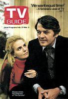 TV Guide, February 27, 1971 - Sharon Acker, Hal Holbrook of 'The Senator'
