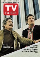 TV Guide,  March 13, 1971 - Gene Barry, Robert Stack of 'The Name of the Game'