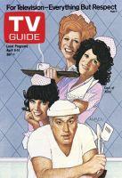 TV Guide, April 8, 1978 - Cast of 'Alice'