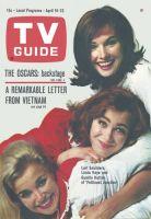 TV Guide, April 16, 1966 - Lori Saunders, Linda Kaye and Gunilla Hutton of 'Petticoat Junction'