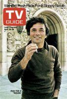 TV Guide, April 20, 1974 - Peter Falk of 'Columbo'