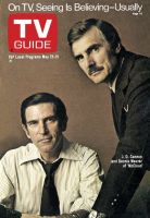 TV Guide, May 25, 1974 - J.D.Cannon and Dennis Weaver of 'McCloud'