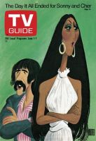 TV Guide, June 1, 1974 - The Day it All Ended for Sonny And Cher