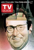 TV Guide, June 22, 1974 - John Chancellor: 'How Believable Am I?'