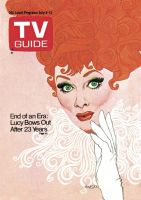 TV Guide, July 6, 1974 - End of an Era: Lucy Bows Out After 23 Years