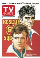 TV Guide, August 3, 1974 - Kevin Tighe and Randolph Mantooth of 'Emergency!'