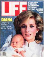 Life Magazine, December 1, 1984 - Princess Diana and Prince Harry