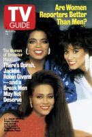TV Guide, March 18, 1989 - Are Women Reporters Better Than Men?