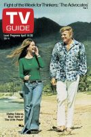 TV Guide, April 14, 1973 - Shelley Fabares, Brian Keith of 'The Little People'